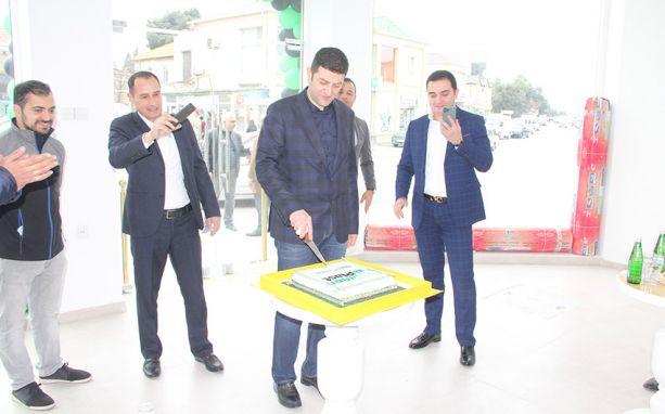 Green Plast Maştağa satış mərkəzinin açılışı